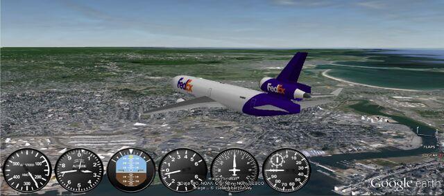File:Fedex MD-11 Flying over Boston.jpg