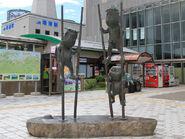 Kappa no Sanpei statue