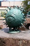 Backbeard statue