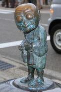 Kawazaru statue