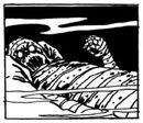 Cadaver de medama-oyaji