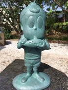 Akuma-kun statue