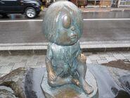 Kitarou statue