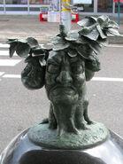 Tankororin statue
