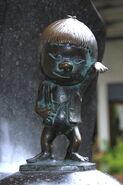 Zashiki-Warashi statue