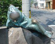 Nezumi-Otoko statue