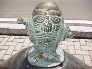 Hyakume statue