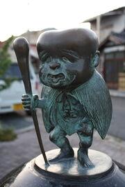 Konaki-Jijii statue