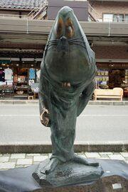Estátua de nezumi-otoko