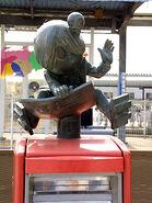 Kitarou post statue