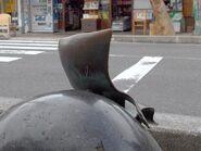 Ittan-Momen statue 2