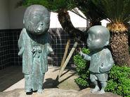 NonNonBa and Me statue