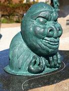 Amamehagi statue
