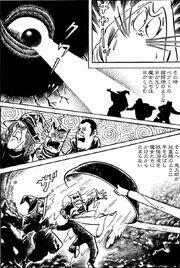 Backbeard hipnotizando os yokai ocidentais