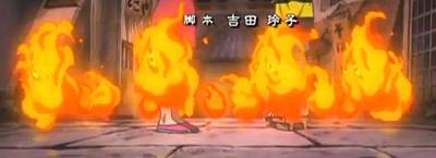 Fire yokai