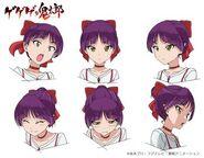 Neko-Musume 6 Design