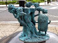 Kokeka-Kii-Kii statue