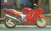 Ninas Motorrad