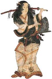 Okuni kabuki byobu-zu cropped and enhanced