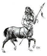 Centaur girl