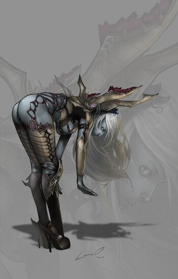 ERI The Dark Elf by laurasardinha
