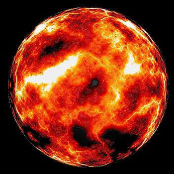 Lava planet by E drian