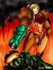 Samus Aran beats Master Chief by Dand01