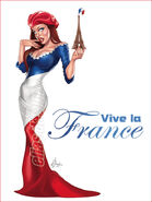 Viva la France by chatgr