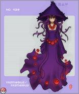 PKMN 429 Mismagius by Nya ko