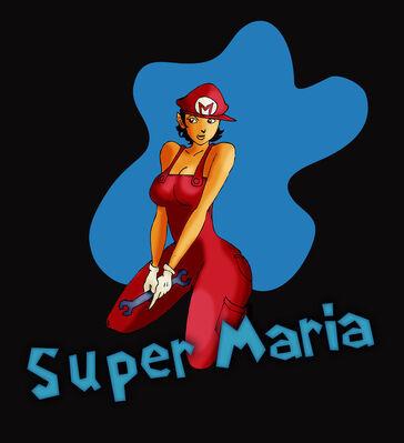 Super maria sis by dragonscreamer-d4rhj4x