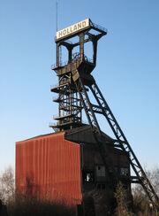 Foerdergerüst Zeche Holland Wattenscheid