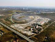 Blick auf das noch nicht rückgebaute und sanierte Projekt Ewald 2004