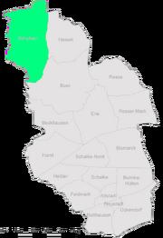 Karte Gelsenkirchen Scholven
