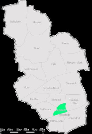 Karte Gelsenkirchen Altstadt