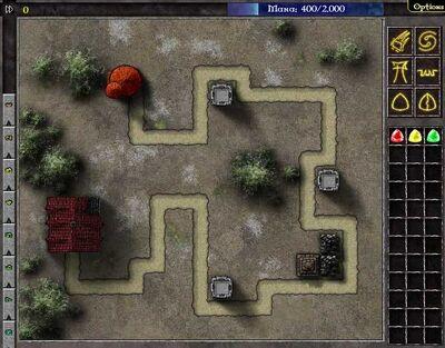 Gemcraft Chapter 0 (Level 1 Map)