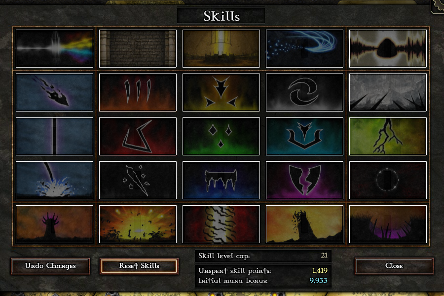 List of Skills in GemCraft Chapter 2 (Chasing Shadows