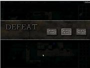 Defeat screen