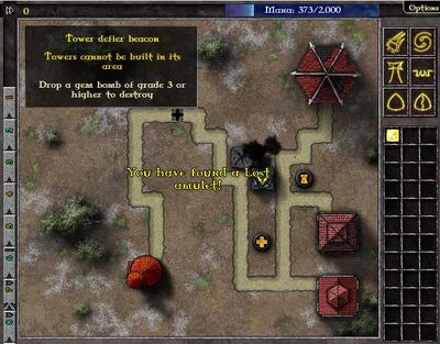 Location of Amulet Level 10 Sudden Death