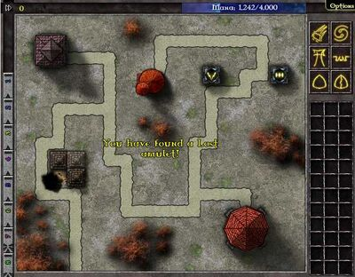 Location of Amulet Level 11 Swarm