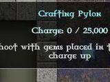 Crafting Pylons