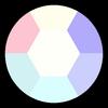 Opal Amethyst Gemstone