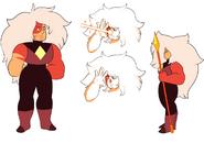 Jasper (Gemcrust nose gem) reference sheet