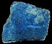 Shattuckite crystal