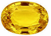 Yellow Sapphire real