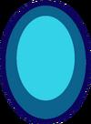 Rainbow Fluorite Pearl Gem