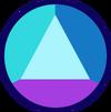 Rainbow Fluorite Sapphire Gemstone