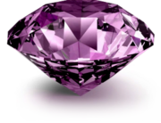 Violet Diamond crystal