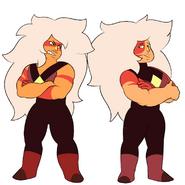 Both nose gem Jaspers