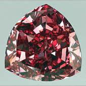 Red Diamond crystal