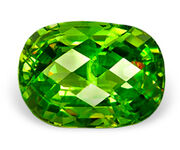 Demantoid crystal